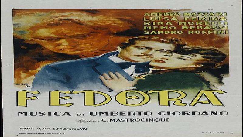 Fedora--Camillo Mastrocinque-1942-Luisa Ferida, Osvaldo Valenti,,Amedeo Nazzari, Rina Morelli, Memo Benassi,.Avi