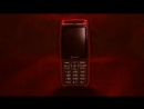 Mobile Phone Senseit P101 Blood Red