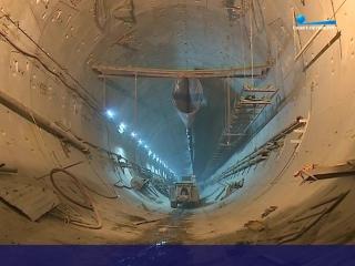 Демонтаж «Надежды»: из тоннеля нового участка метро начали выводить оборудование