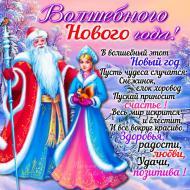 Волшебного Нового года!