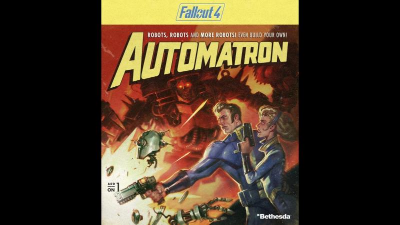 Fallout4 Автоматрон - Логово Механиста 11
