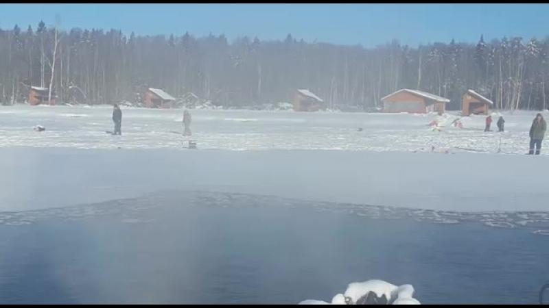 23 февраля в Рыболовной Усадьбе Золотые Караси
