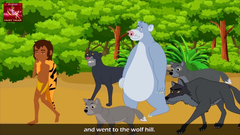 Jungle Book in English - Bedtime stories