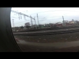 HIGH SPEED 120 KM_H _ Упал с ласточки _ ЗАПАЛ на вокзале _ Trainsurfing in Russi
