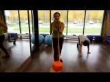 Интервальная тренировка женского фитнес-проекта ATFIT