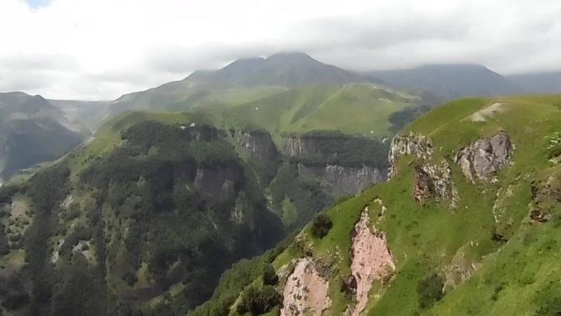 Арка Дружбы Народов на Военно-Грузинской дороге