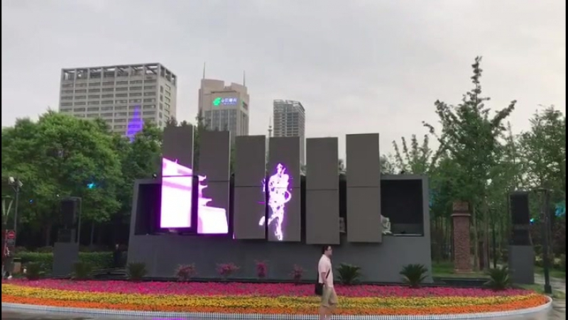 Magic led display video screen advertising leddisplay customized
