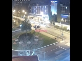 Ночное ДТП на пересечени Курортного проспекта и улицы Пушкинской