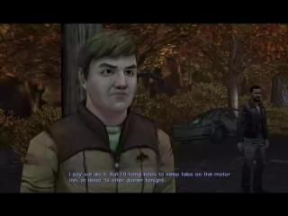 The Walking Dead Game -  Starved For Help - alternate cutscene
