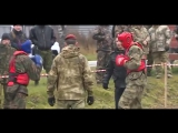 Бойцы Росгвардии в Новосибирской области сдают экзамен на краповый берет