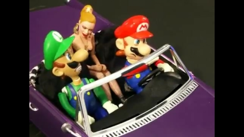 Марио в Vice City