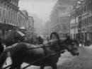 Москва под снегом 1908, реж. Джозеф-Луи Мундвиллер