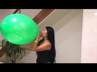 Family Fun Factory - Giant Balloon Challenge My First Time Ever