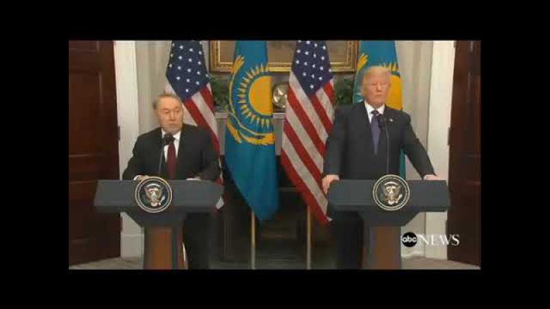 Нас беспокоят «ушедшие на ноль» отношения США и РФ. Назарбаев