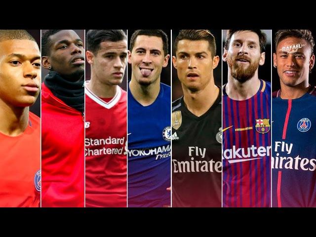 Best Dribbling Skills 2018 ● Hazard ● Ronaldo ● Messi ● Neymar ● Isco ● Mbappe ● Pogba Others HD смотреть онлайн без регистрации
