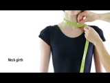 How to Measure a Gymnast for Rhythmic Gymnastics Leotard &amp Acrobatic Gymnastics Dress Sewing
