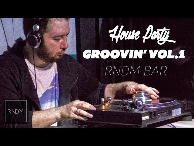 House Party Groovin Vol.1. XIO. TIGER BALMS. Moscow. RNDM Bar. (10.03.2018)