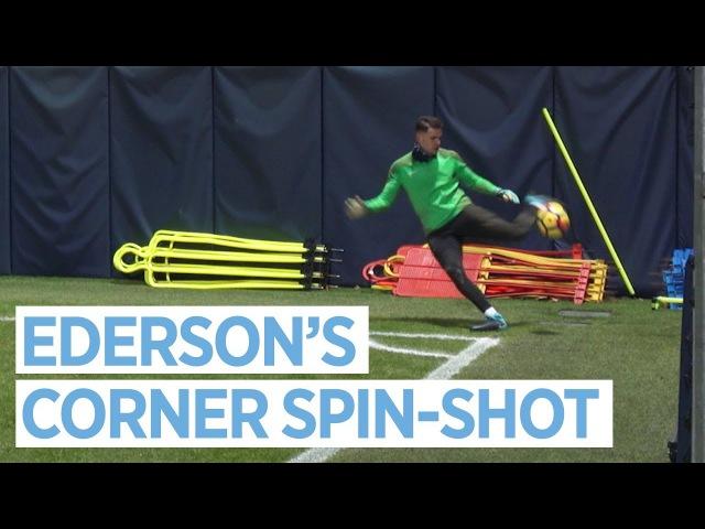 EDERSON SPIN-SHOT AGUERO MEGS KDB! | Skills Galore in Training