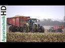 Claas Traktoren Lohnunternehmen Nienaber Maishäckseln Claas Jaguar Feldhäcksler