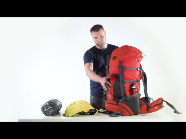 Red Fox backpacks: Makalu
