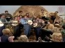 Stringbean,Grandpa Jones,Roy Clark and Bobby Thompson - John Henry(Hee Haw Show Feb 12, 1972)