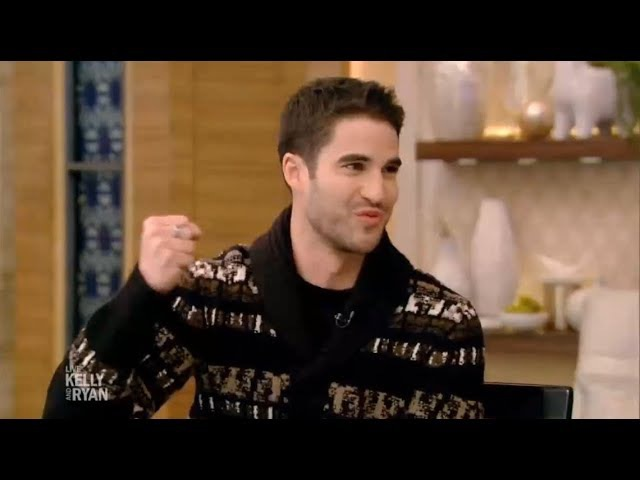 Darren Criss 'The Assassination of Gianni Versace' Interview on Live with Kelly and Ryan