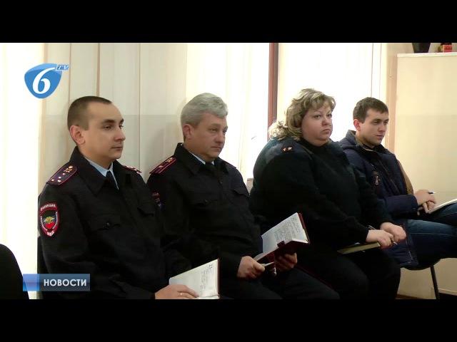 Прием граждан начальником ГГУ МВД ДНР Владимиром Савкиным