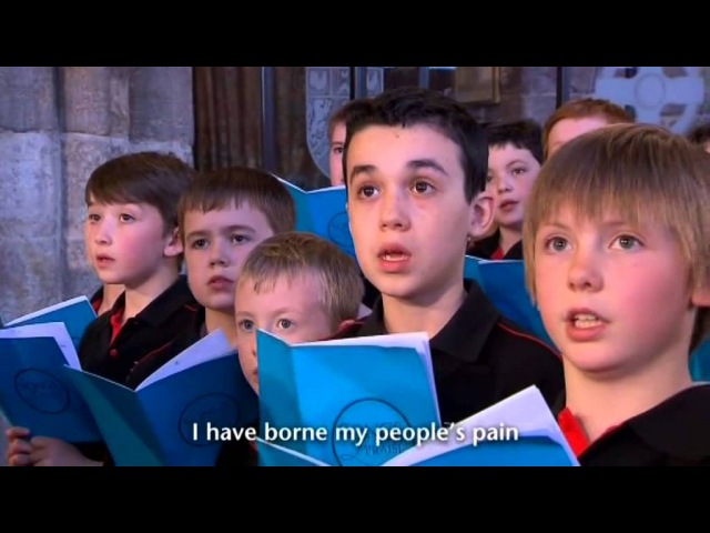 National Youth Choir of Scotland- The Lord of sea and sky