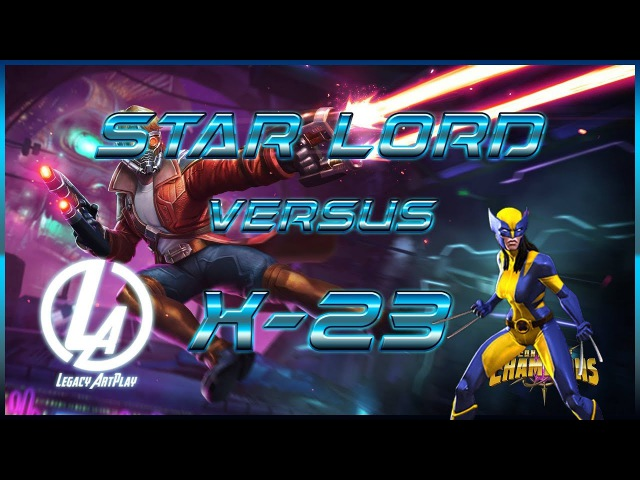 Звездный Лорд 5* Versus Росомаха (Х23) от Legacy, Лабиринт Легенд Марвел: Битва чемпионов
