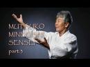 Муцуко Минегиши Сенсей в Санкт Петербурге часть 3
