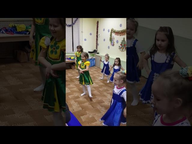 Русский танец 2 Открытый урок 28 декабря 2017