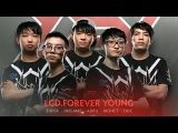 LGD.Forever Young Player Intro - The International 2017 Dota 2