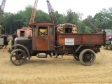 1927 Indiana Truck with 12459 unrestored miles. hauling &amp dumping dirt. 8132011...