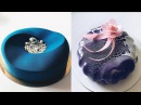 BIRTHDAY CAKE, CAKES DECORATING TEHNIQUES, CAKES DECORATING ODDLY SATISFYING