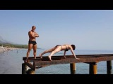 One day from Turkey. Training Anna Kurkurina