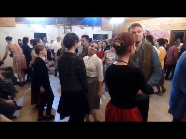 Ноч танцаў у Гарадзенскіх Дворыках Лявоніха