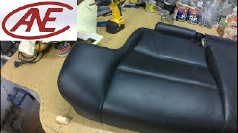 Перетяжка салона Нива. Часть 1: Установка заднего дивана с BMW