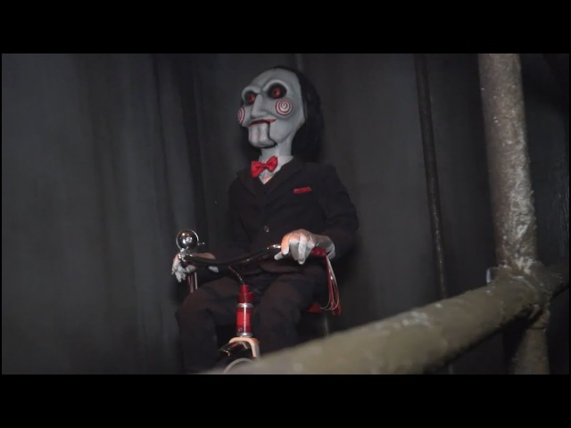 Jigsaw Braves the Saw Halloween Horror Maze смотреть онлайн без регистрации