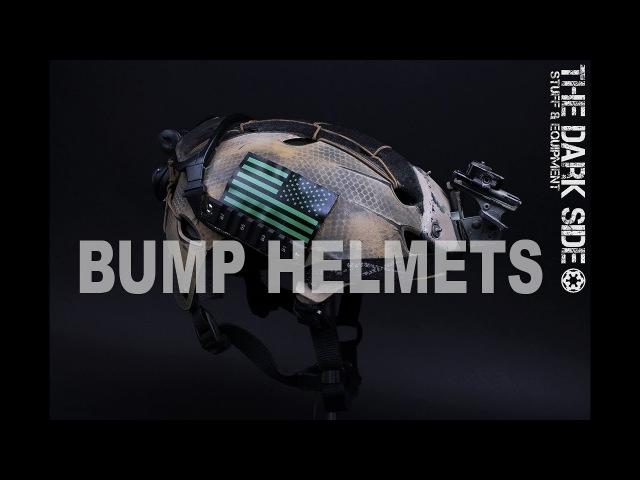 Описание военных противоударных BUMP шлемов Protec, Team Wendy, Ops Core