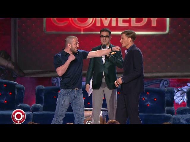 Джабар Аскеров и Алексей Яценко в Comedy Club 29 11 2013