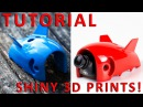 Make your 3D printed part (surface) look awesome! TUTORIAL