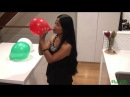 BALLOONS OF THE WORLD 🎈 ITALY 🇮🇹 Blowing and Popping Green, White and Red Balloons!!