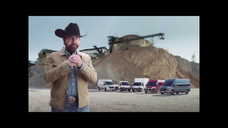 Chuck Norris Video - Ducato: made of tough