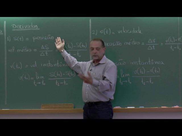 Introdução ao Cálculo Diferencial e Integral - 02.04.2016 - parte 1