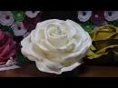 Ростовой цветок из изолона. Большие цветы из изолона. Giant rose tutorial