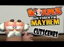 Worms Ultimate Mayhem 2011 All Movies Cutscenes by Team17 HD