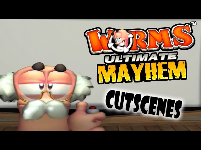Worms Ultimate Mayhem (2011), All Movies / Cutscenes by Team17 (HD)