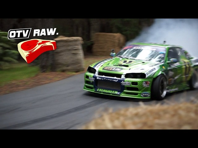 OTV RAW Cole Armstrong RB30DET Nissan Skyline ONBOARD - Leadfoot Festival 2018