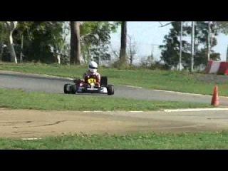 Makotrac's 50hp Aixro 50 XR 50 Wankel/Rotary Gold Star Go Kart