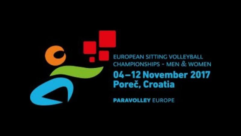 European Sitting Volleyball Championship Women Porec 2017, Gold medal UKR vs RUS 11.11.2017.